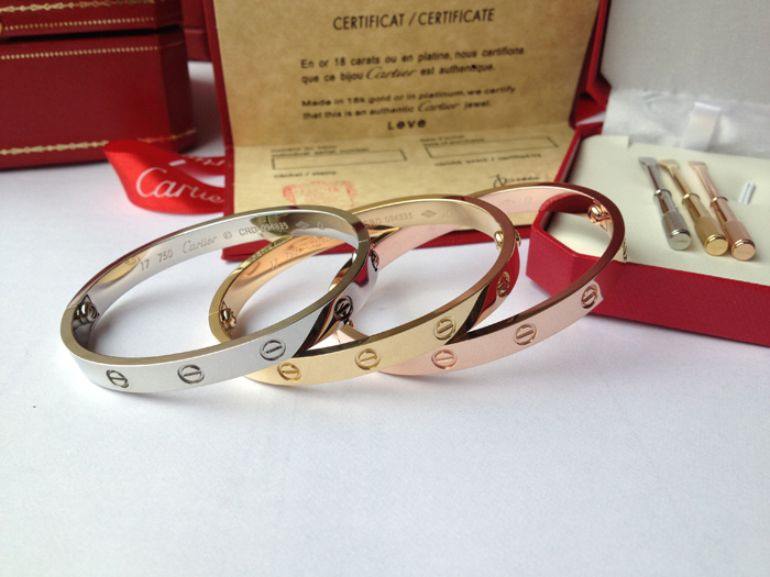 Prix d'un bracelet cartier love